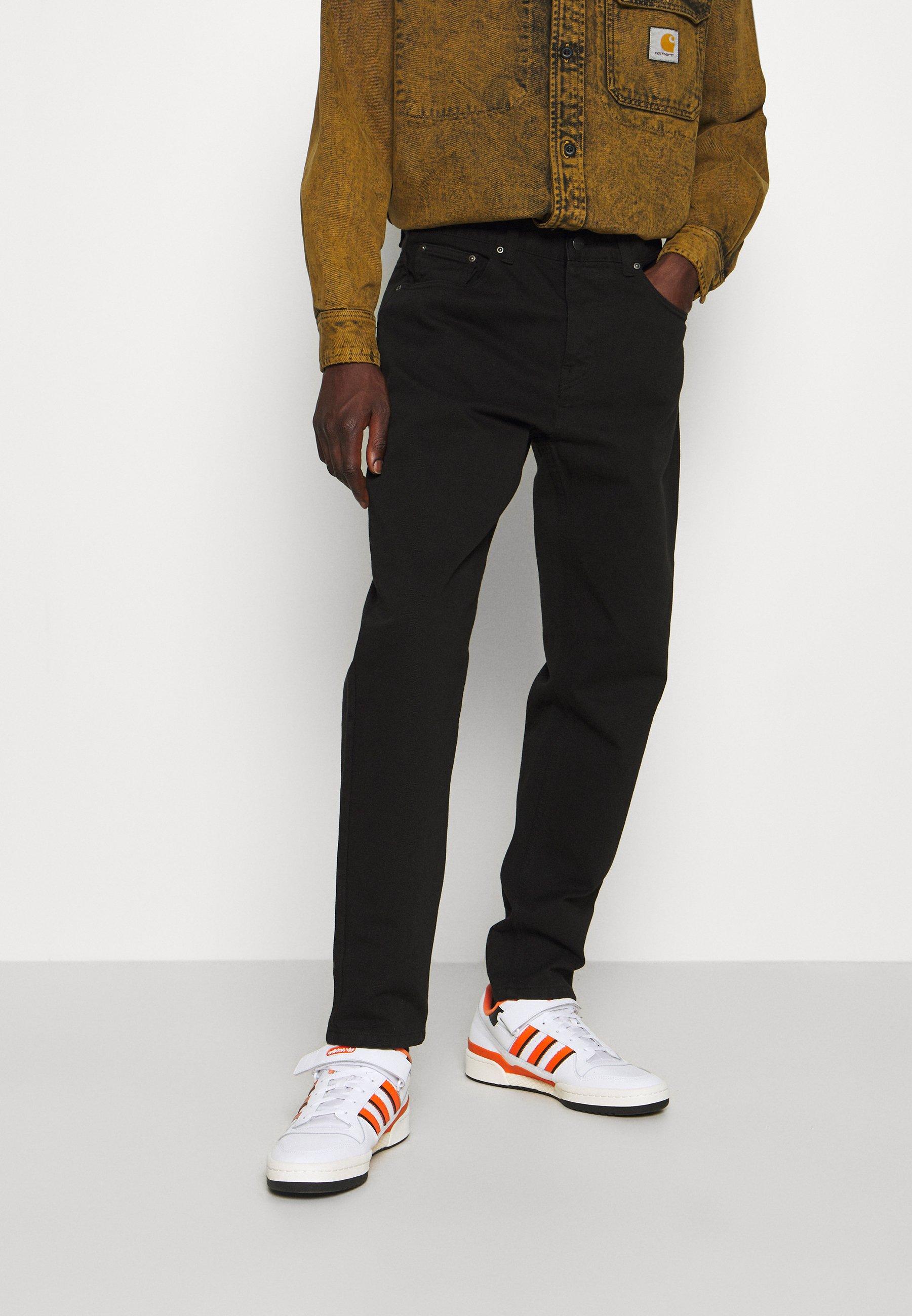 Homme NEWEL PANT ALTOONA - Pantalon classique - black garment