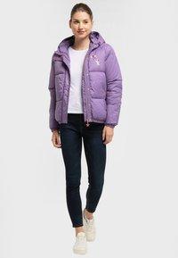 myMo - Winter jacket - lila - 1