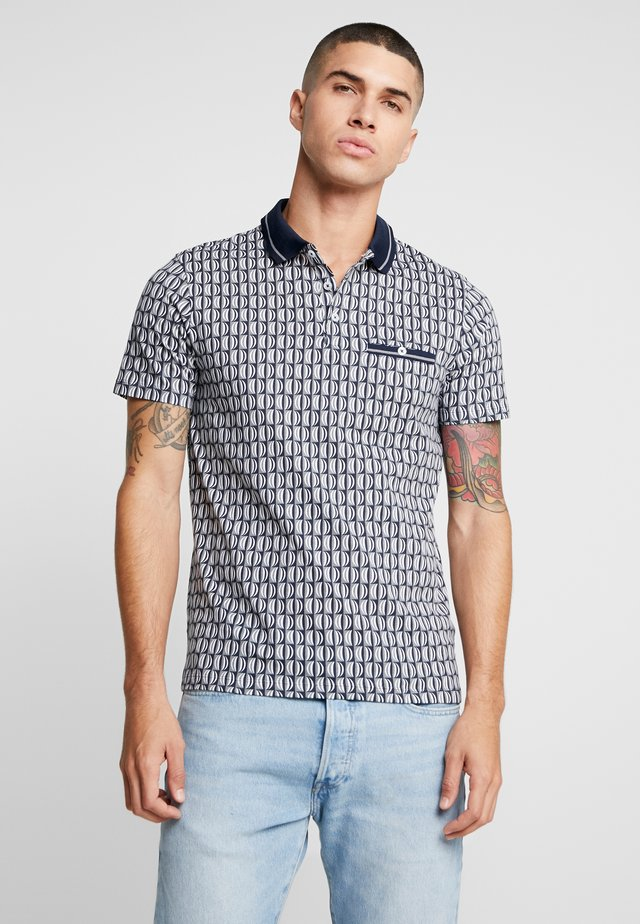 GRAPHIC GEO - Poloskjorter - navy