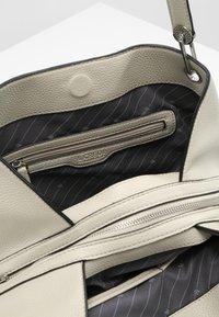 L. CREDI - SHOPPER EBONY - Handbag - stone - 3