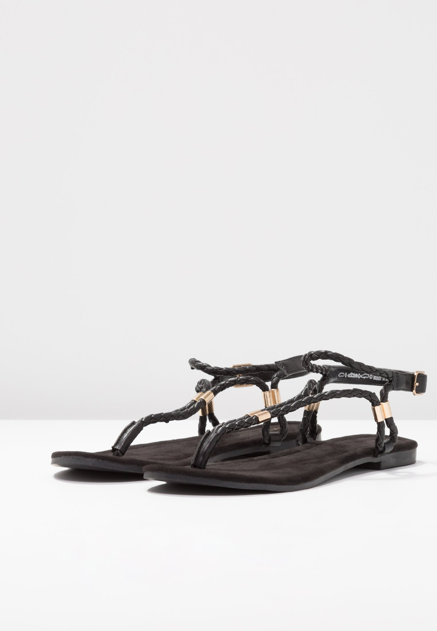 Anna Field Flip Flops - Black/svart
