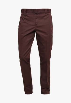 WORK PANT - Chino - chocolate brown