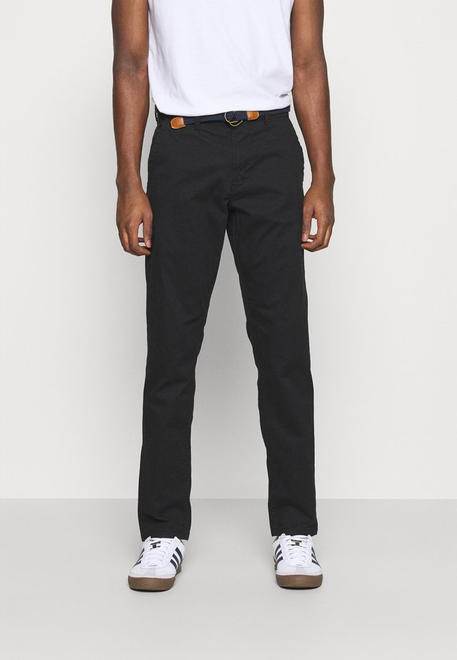 ONSWILL LIFE BELT - Chinos - black