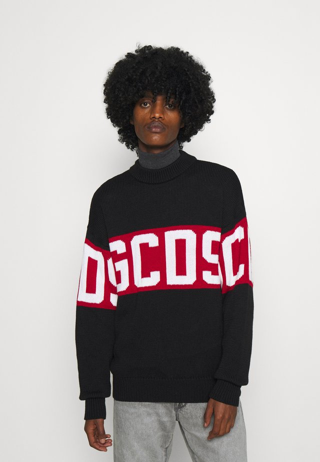 LOGO - Pullover - black
