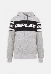 Replay - Hoodie - grey melange - 3
