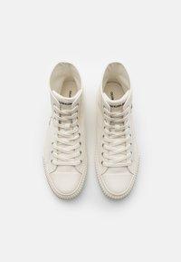 Calvin Klein Jeans - IANUS - Sneakers hoog - bright white - 3