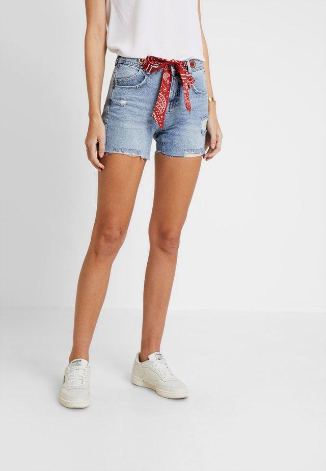 JULYET - Denim shorts - lambada
