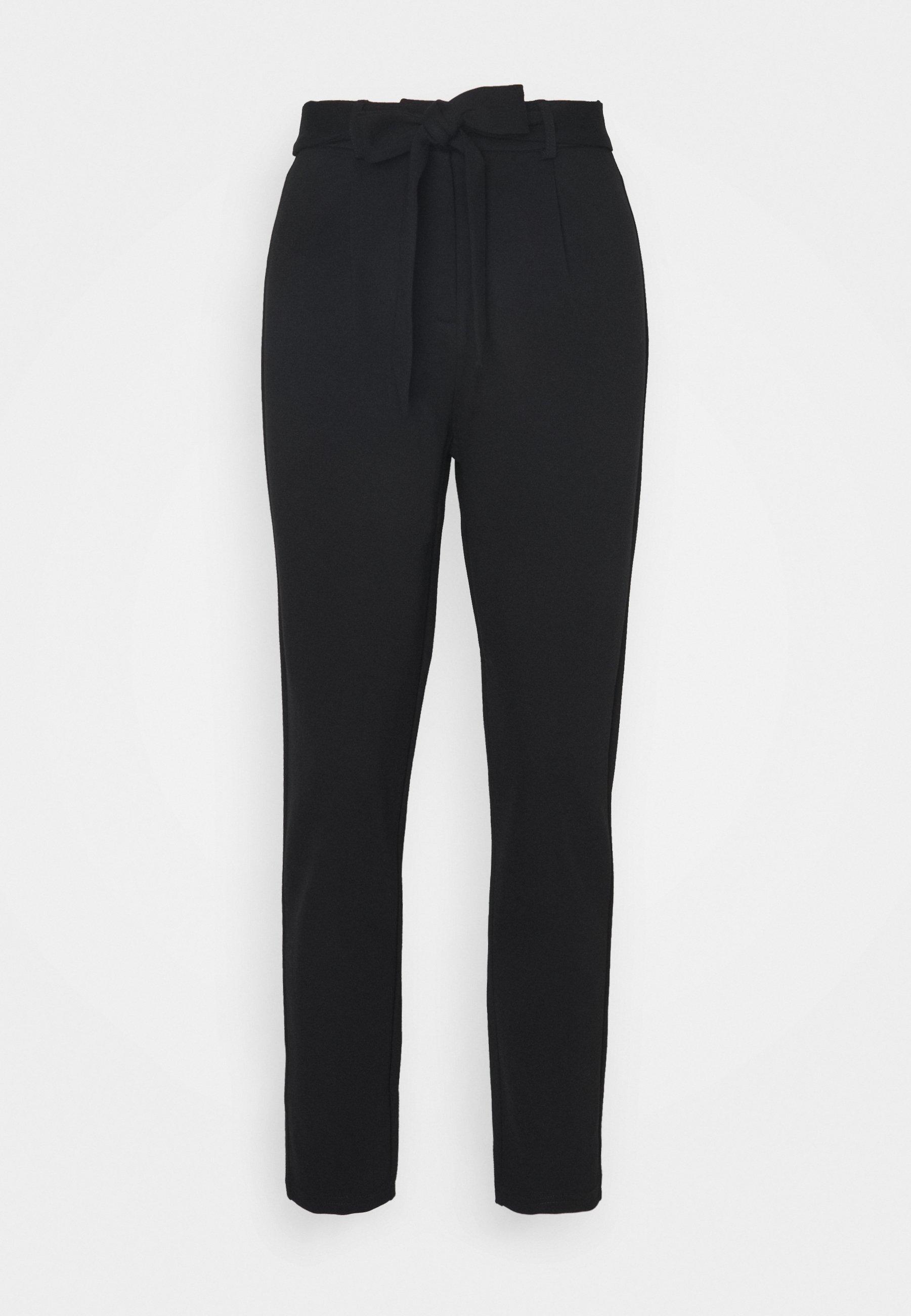 Women PCBEATE TIE PANTS - Trousers