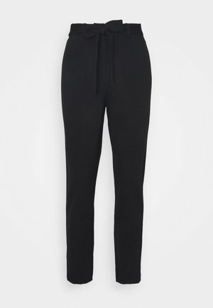 PCBEATE TIE PANTS - Trousers - black