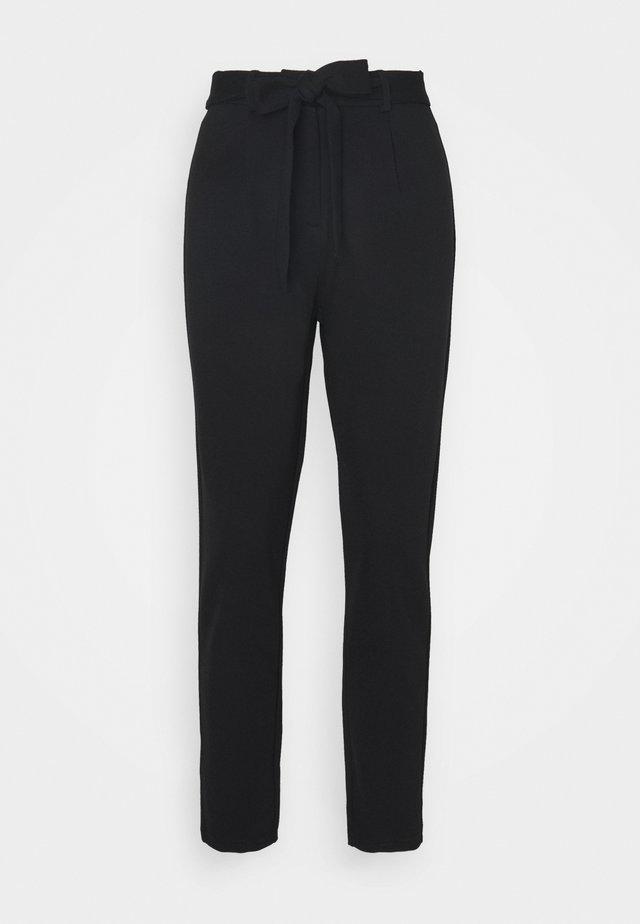 PCBEATE TIE PANTS - Trousers - black