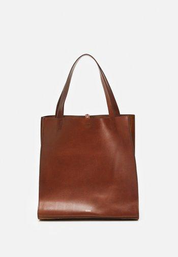 HOPE SET - Käsilaukku - dark amber