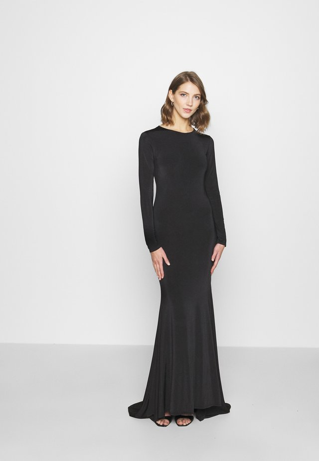 FISHTAIL DRESS - Galajurk - black