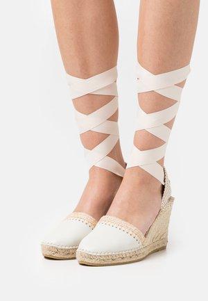 CARLA - Sandales à plateforme - oslo hielo