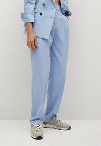 Mango - GRETA - Trousers - hemelsblauw - 0