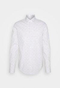 Calvin Klein Tailored - PRINTED SLIM SHIRT - Formal shirt - white - 0