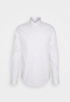 PRINTED SLIM SHIRT - Formal shirt - white