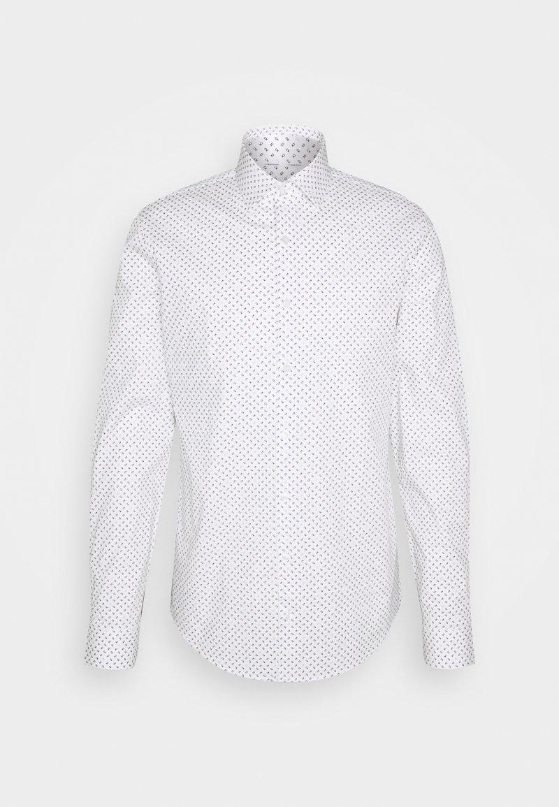 Calvin Klein Tailored - PRINTED SLIM SHIRT - Formal shirt - white
