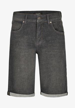 Denim shorts - anthrazit