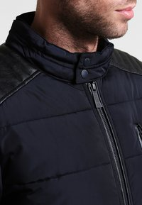 HARRINGTON - BIKER - Winter jacket - marine - 3