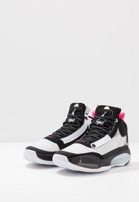 Jordan - AIR XXXIV - Koripallokengät - black/metallic silver/white/digital pink - 2
