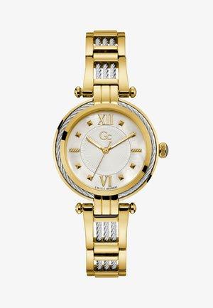 CABLEBIJOU  - Horloge - silver yellow gold