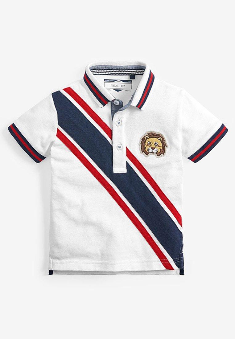 Große Förderung Next SHORT SLEEVE TIGER SASH POLO (3MTHS-7YRS) - Poloshirt - white | Damenbekleidung 2020