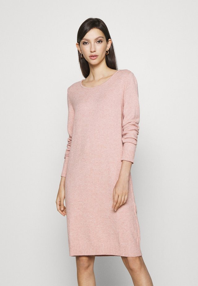 VIRIL DRESS - Jumper dress - misty rose melange
