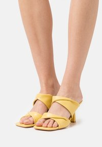 Glamorous - Heeled mules - yellow - 0