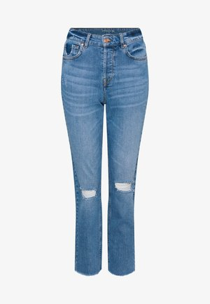 Straight leg jeans - light stoned