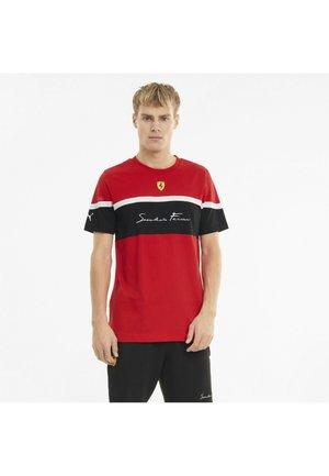 FERRARI RACE  - T-shirt con stampa - rosso corsa