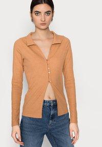 Fashion Union Tall - FENNEL CARDI - Chaqueta de punto - orange - 3