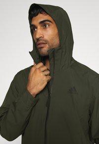 adidas Performance - 3-STRIPES RAIN.RDY - Veste imperméable - legear - 3