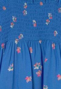 OshKosh - Smocked Floral Dress - Day dress - blue - 2