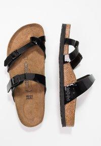 Birkenstock - MAYARI - T-bar sandals - schwarz - 3