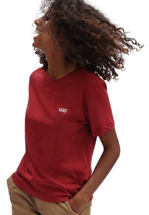 WM JUNIOR V BOXY - T-shirt - bas - pomegranate