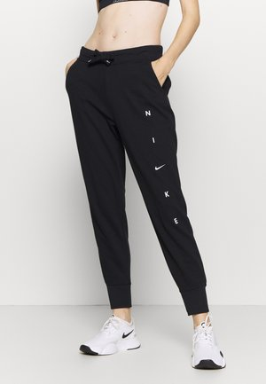 DRY GET FIT PANT - Verryttelyhousut - black/white
