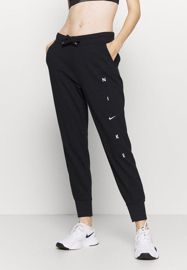 DRY GET FIT PANT - Pantalon de survêtement - black/white