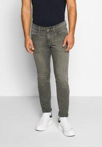 camel active - FLEX - Straight leg jeans - grau - 0