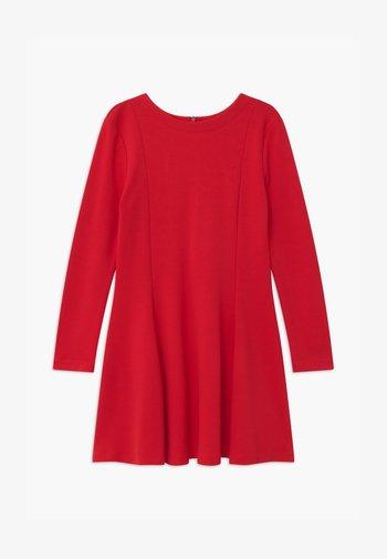 ABITO - Žerzejové šaty - rosso