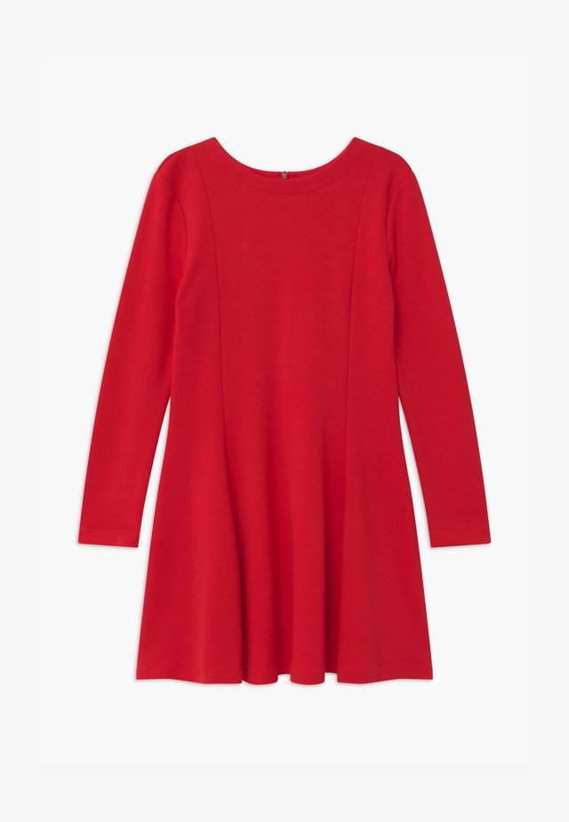 ABITO - Jersey dress - rosso