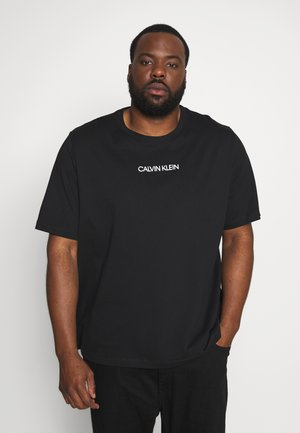 SHADOW LOGO - Print T-shirt - black