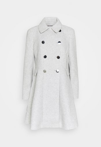 LOUISE FIT AND FLARE - Classic coat - grey marle