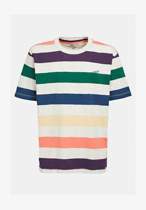 MOTIF RAYÉ - T-shirt print - fantaisie multicolore