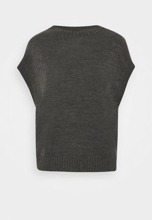 WESTE - Basic T-shirt - dark grey melange