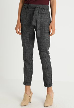 NELLI PANTS - Trousers - black deep
