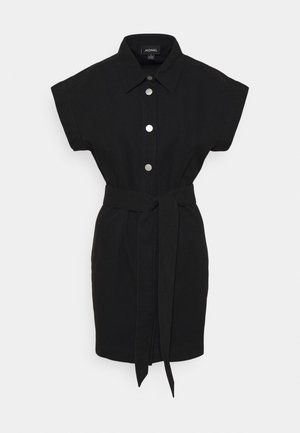 LINN DRESS - Vestido camisero - black dark