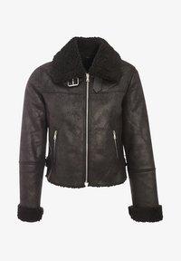 Cache Cache - ZWANGS SPIRIT - Leather jacket - noir - 4