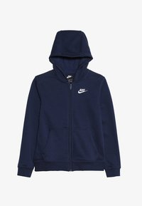 Nike Sportswear - HOODIE CLUB - Mikina na zip - midnight navy - 3