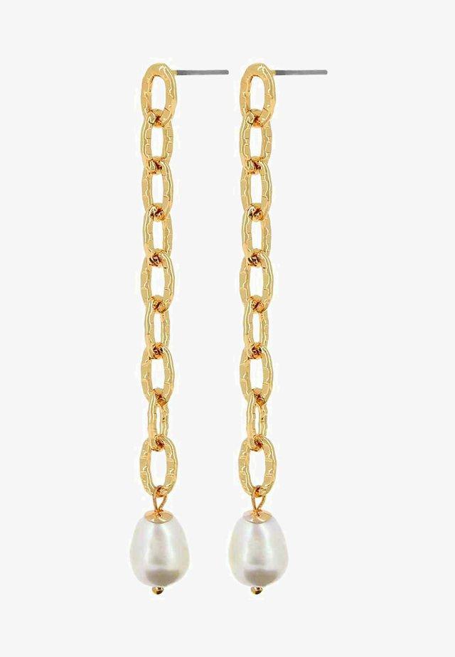 AUDREY  - Boucles d'oreilles - gold-coloured