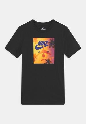 TEE PHOTO SUNRISE - Camiseta estampada - black